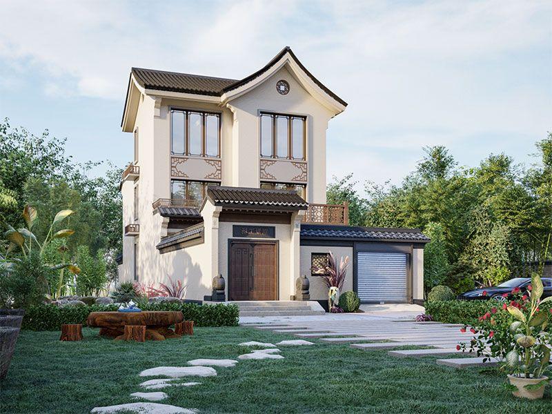 新中式小院墅设计,向往的小宅院生活