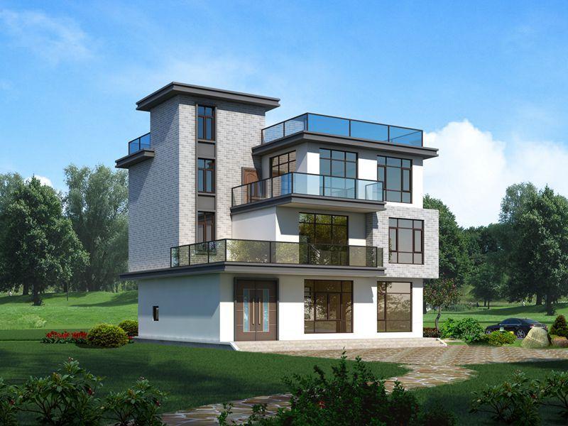 现代风格农村自建房,还原生活本质