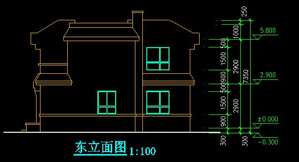 新农村两户联体式住宅3