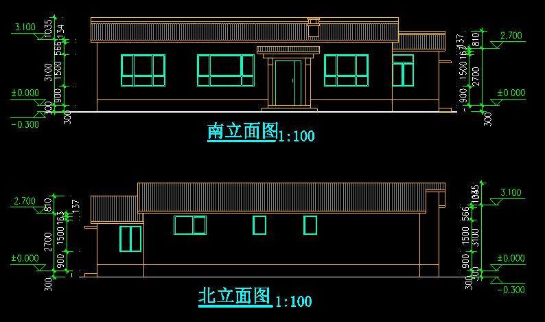 新农村两户联体式住宅4