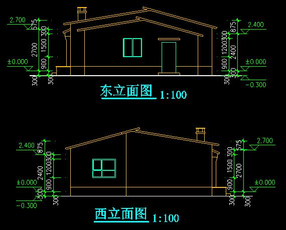 新农村两户联体式住宅5