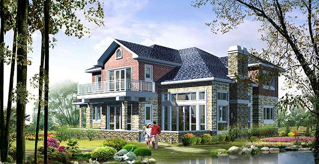 20万内农村两层别墅设计图3