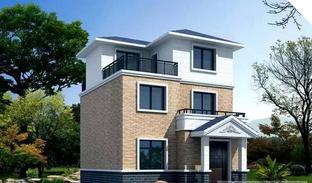 25万左右三款占地80平方米的小户型农村别墅设计图347.png