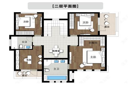 2019二层农村新款别墅设计图,6室3厅3卫超实用537.png