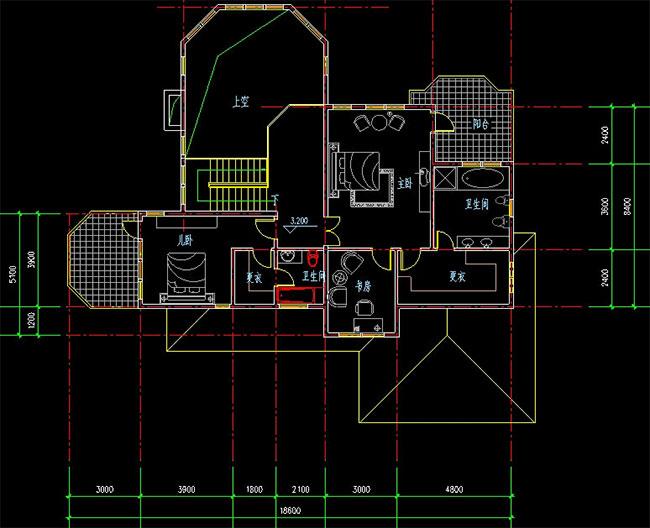 高档大气二层加地下室自建别墅设计图,241平米带车库181.jpg