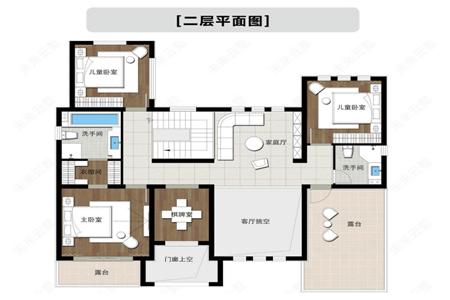 180平农村二层别墅设计,六室三厅三卫还带双露台,你一定喜欢306.png