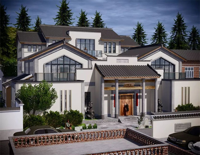 农村建房指南,如何选择建筑风格、设计师和屋顶形式526.jpg