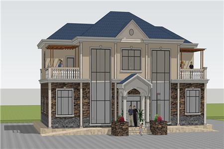 2019年最流行的欧式别墅设计!农村房子这样建简单又大气120.png
