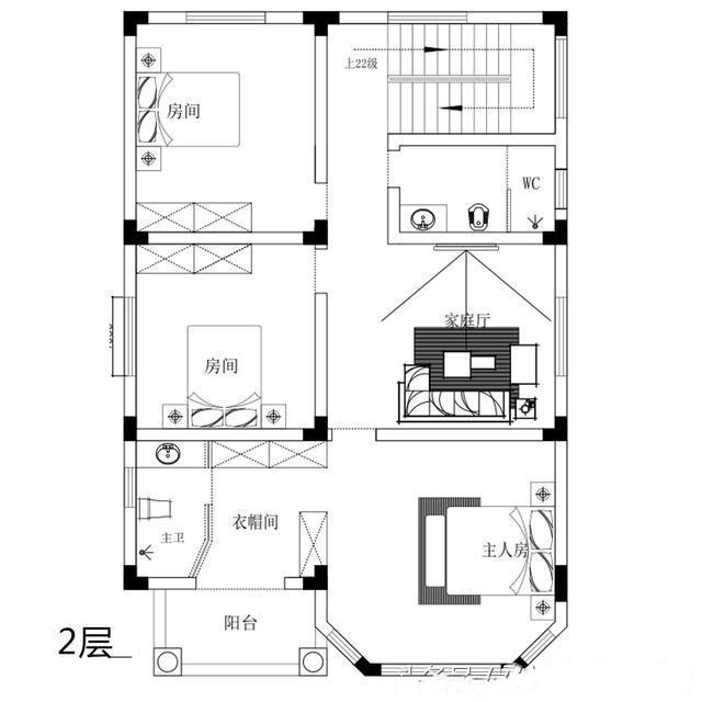 带堂屋的农村别墅2层半怎么设计呢296.jpg