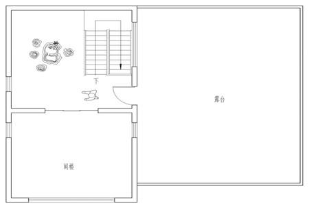 占地130平的二层半新中式农村别墅,4室3厅还带超大露台483.png