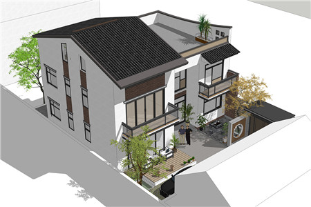 占地130平的二层半新中式农村别墅,4室3厅还带超大露台574.png