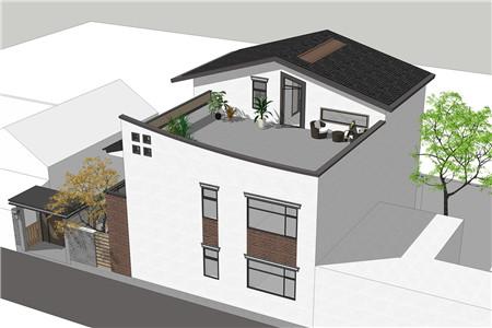 占地130平的二层半新中式农村别墅,4室3厅还带超大露台651.png