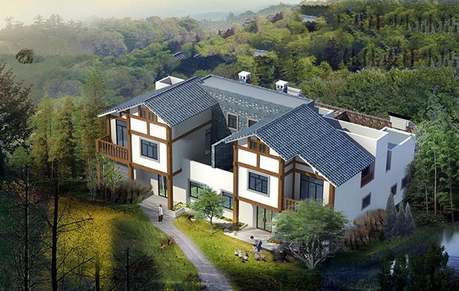 农村二层20万小别墅设计1