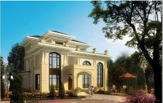 农村50万元别墅设计图