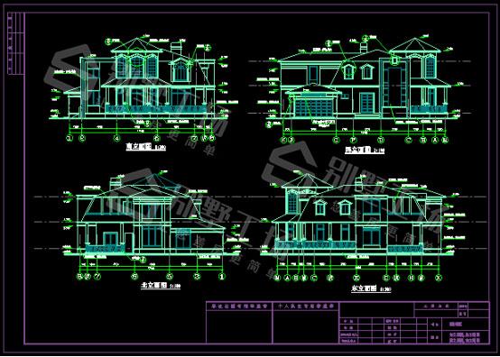 17X20米二层CAD图