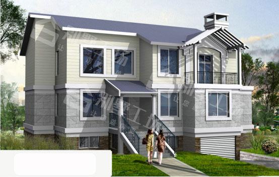 3层楼房效果图1