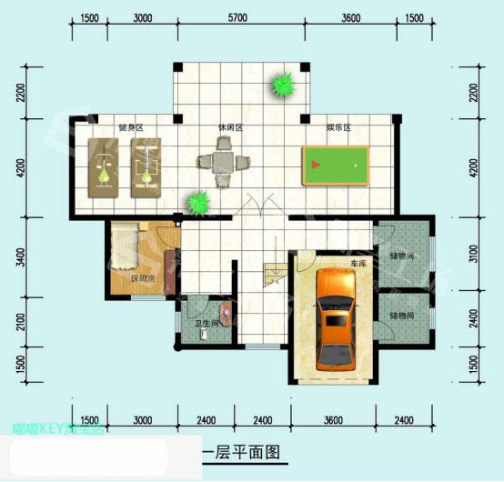 3层楼房效果图3