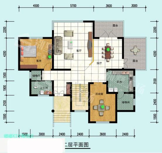 3层楼房效果图4