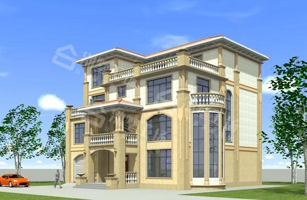 四层别墅设计图1