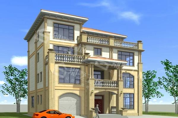 四层别墅设计图2