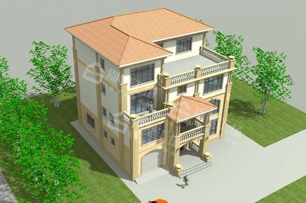 四层别墅设计图3