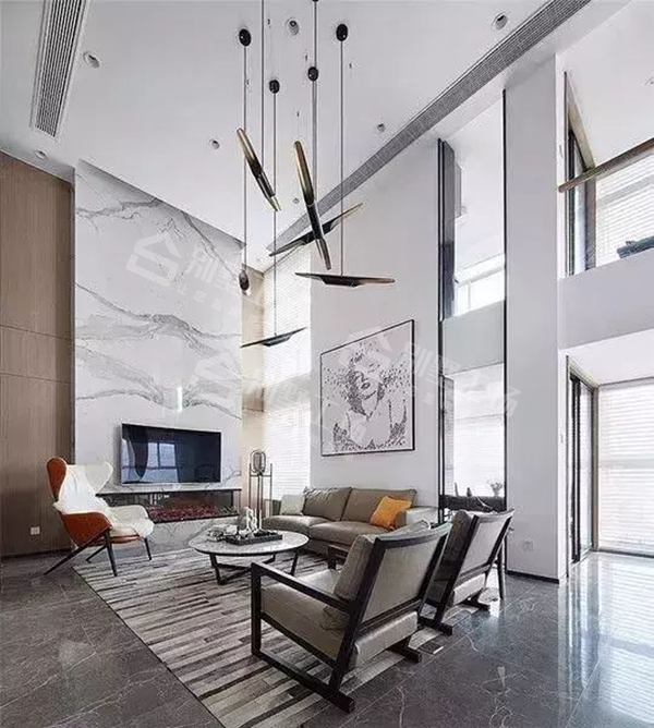 客厅吊顶设计及吊灯搭配3