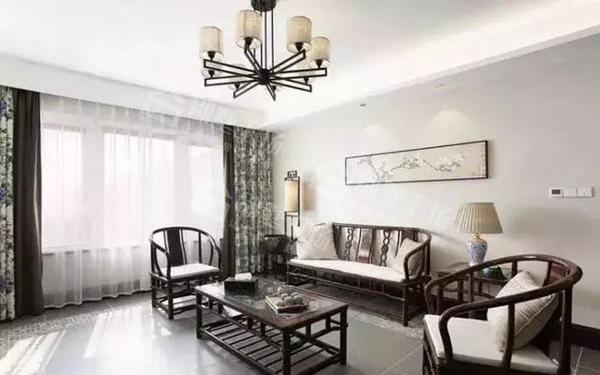 客厅吊顶设计及吊灯搭配11