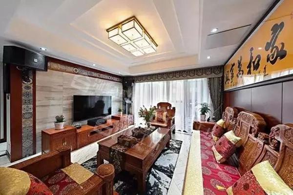 客厅吊顶设计及吊灯搭配14