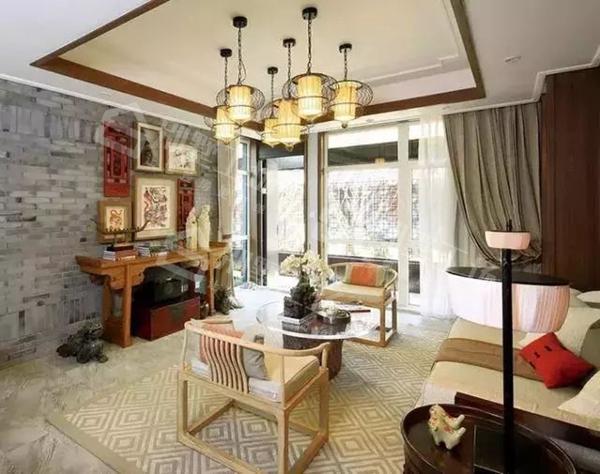 客厅吊顶设计及吊灯搭配15