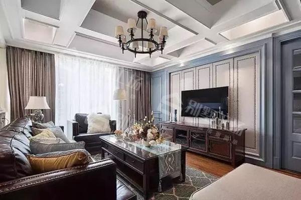 客厅吊顶设计及吊灯搭配18