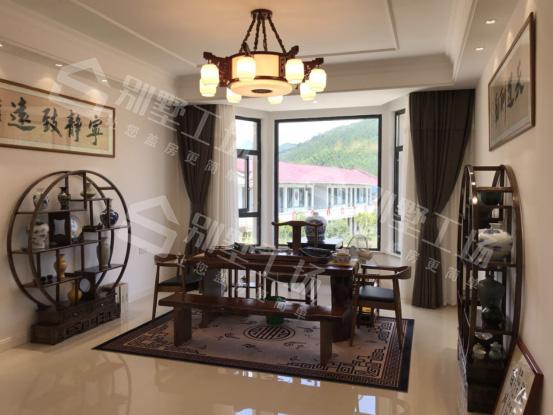 农村别墅装修200平方客厅