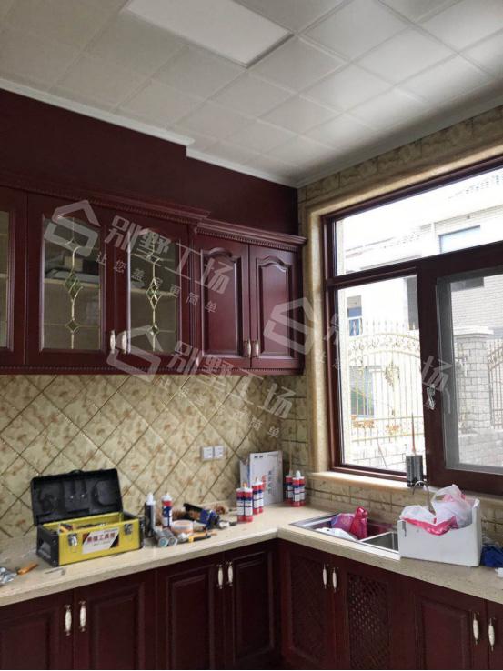 两层别墅室内创意装修厨房