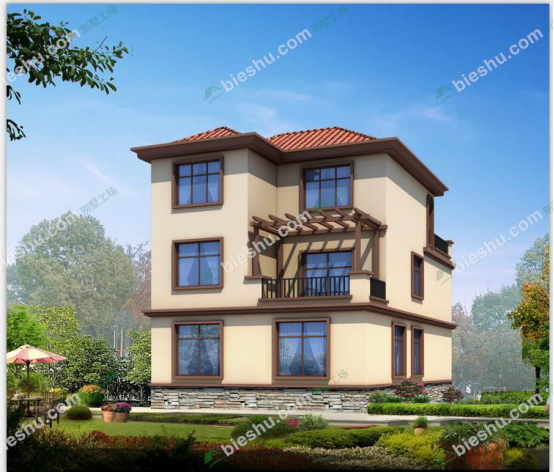 托斯卡纳艳阳下的别墅风格1