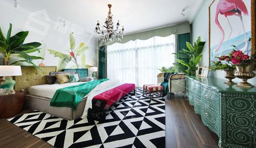异域风情别墅设计及室内装修实景图2