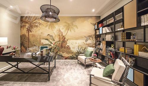 异域风情别墅设计及室内装修实景图3