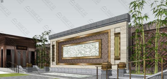 庭院门头设计图2