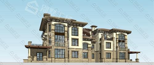 三层大别墅选择什么风格?中海别墅设计风格推荐给您!3