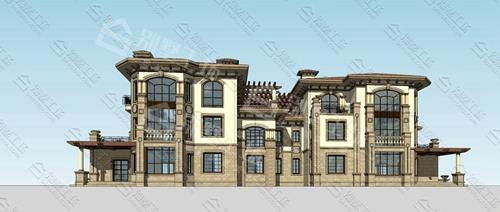 三层大别墅选择什么风格?中海别墅设计风格推荐给您!4