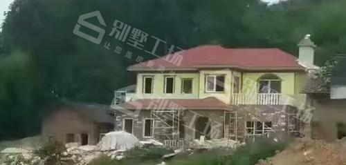 农村自建两层轻钢别墅