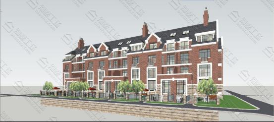 英式别墅模型图5