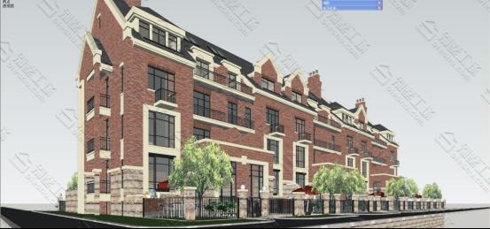 英式别墅模型图6