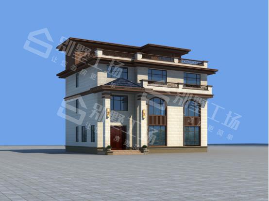 新中式三层自建房