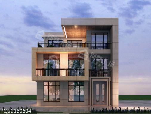 现代三层别墅设计