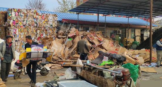 农村低投资赚钱小项目:废品回收站