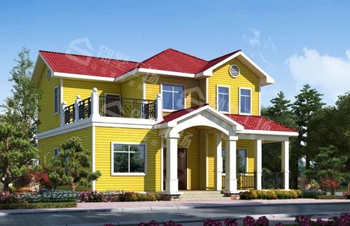 轻钢结构别墅跟木质结构有什么区别?墙面一打就烂了?