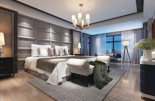室内装修现代中式风格案例分享
