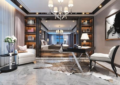 2019最新现代中式别墅室内装修图片分享