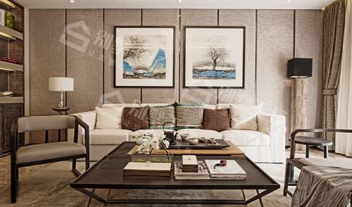 客厅现代新中式年轻人喜爱的装修风格
