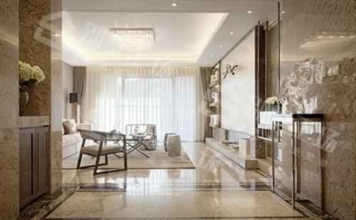 新中式风格别墅图片客厅展示