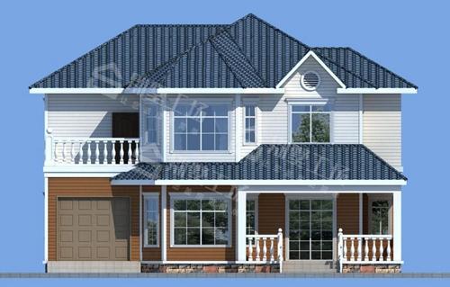 农村自建两层房子图片欣赏